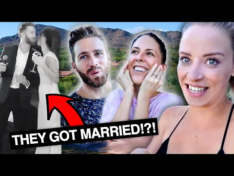 THEY HAD A SURPRISE WEDDING!