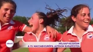 Holnap kezdődik a Maccabi Európa Játékok Budapesten
