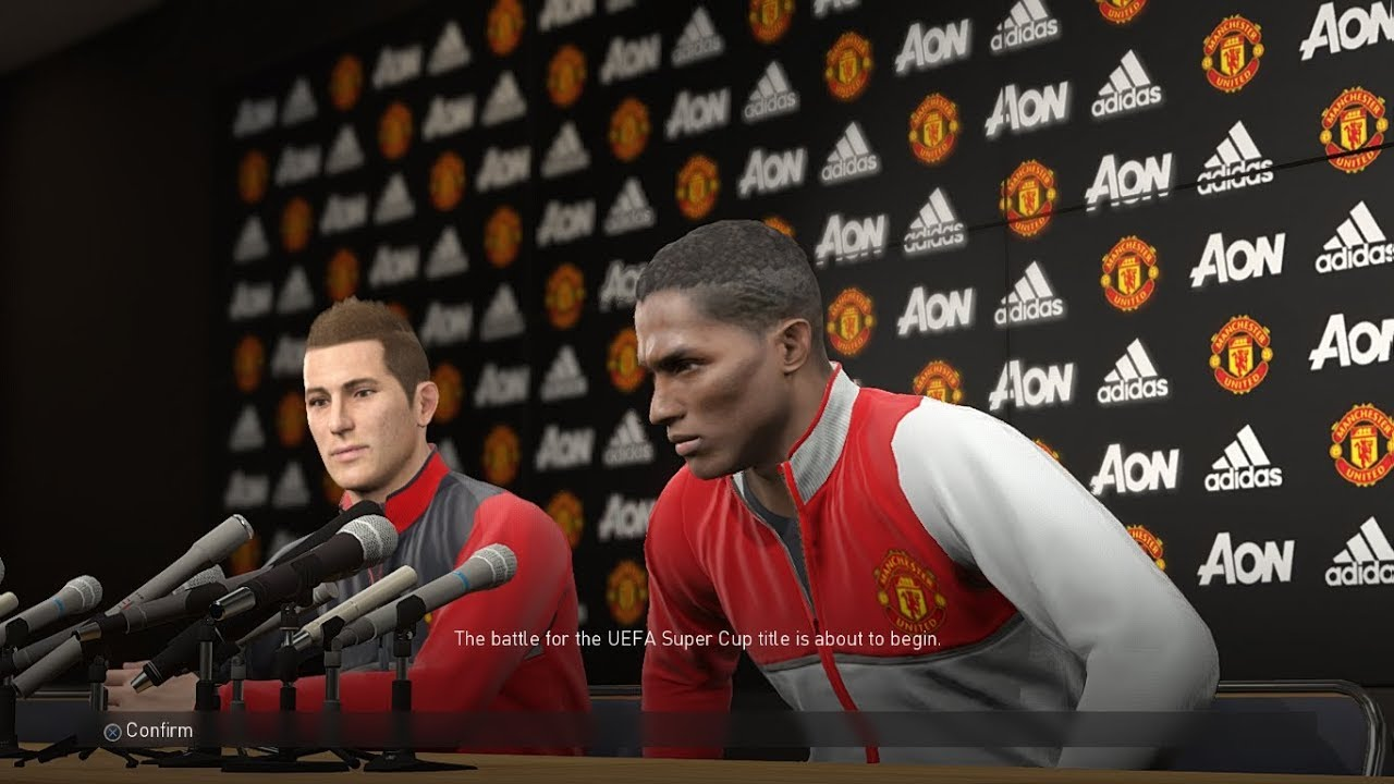 Manchester United Press Conference Room