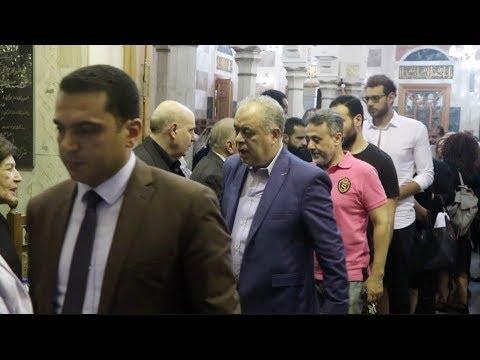 الوطن المصرية:وحيد حامد وأشرف زكي أبرز الحضور بعزاء يوسف شريف رزق الله