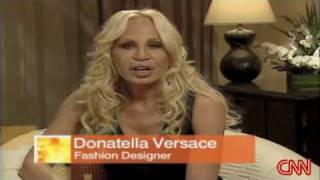 Donatella Versace - CNN Interview - Part 1/3