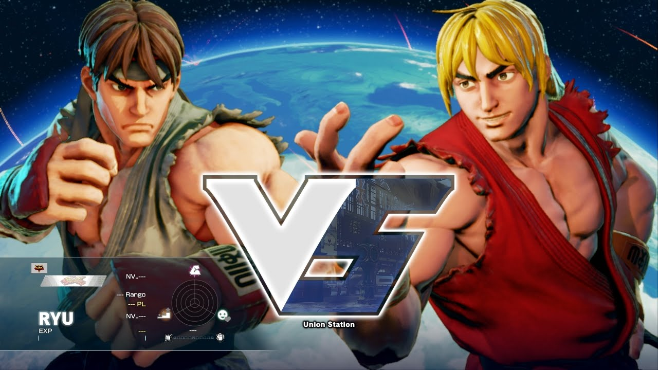 Street Fighter V Pc Alpha Ryu Vs Alpha Ken Extra Youtube