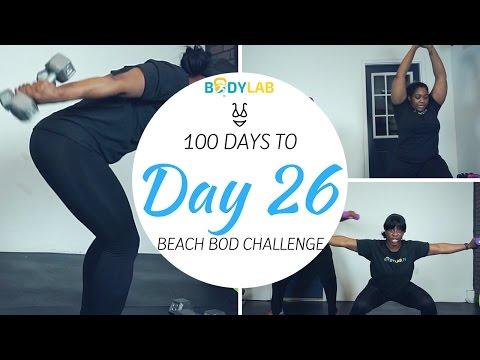 FULL BODY CIRCUIT | DAY 26 | 100 DAYS TO BEACH BOD CHALLENGE