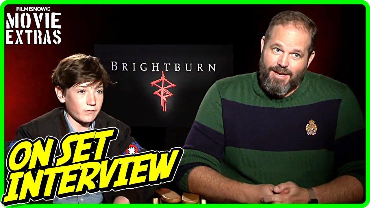 BRIGHTBURN | David Denman & Jackson Dunn talk about the movie - Official Interview
