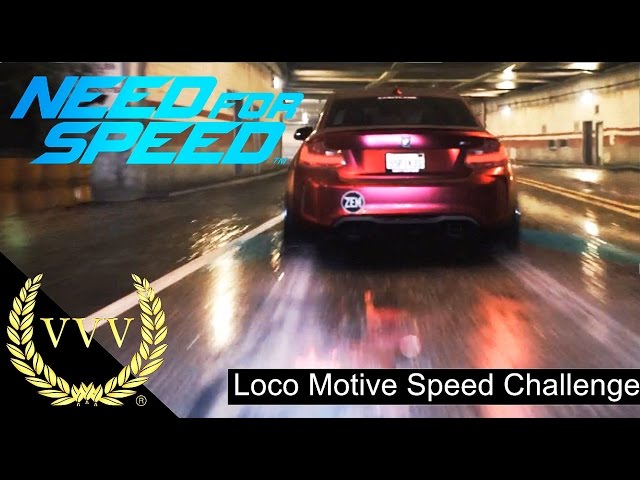 Need For Speed, Preview -  Loco Motive Speed Challenge