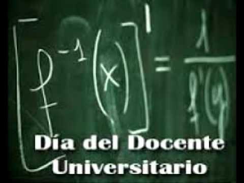 Cada país tiene sus fechas y en la república argentina son de la siguiente. 15 De Mayo Dia Del Docente Universitario Youtube