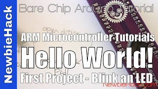 6. How to Output to a Pin to Blink an LED for Arm Microcontrollers - GPIO Tutorial Part 1