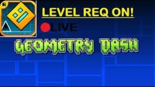 PL ENG Geometry Dash LVL REQ ON ROAD TO 525 SUBS D つ