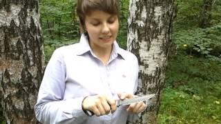 Никелевый дамаск. Ножи Ворсмы. Подарок(Впечатления от никелевого дамаска на ноже ручной работы. https://www.youtube.com/watch?v=o0AKsOZhU-g., 2013-08-12T05:37:45.000Z)