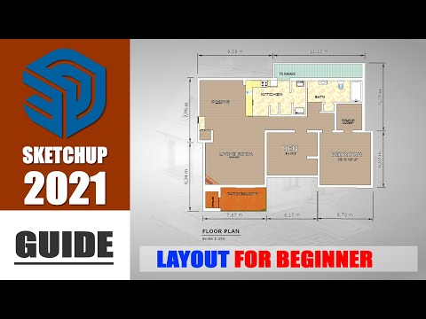 Sketchup Layout 2021 Guide For Beginner