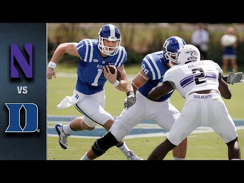 Duke vs. Northwestern | 2015 ACC Football Highlights