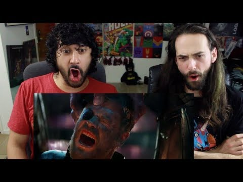 Marvel Studios' AVENGERS: INFINITY WAR - OFFICIAL TRAILER (#2) REACTION!!!
