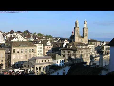 Zurich - Lindenhof hill view