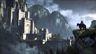 Witcher 3 Jump from the Bridge, Tarzan, Ultra Quality, HD