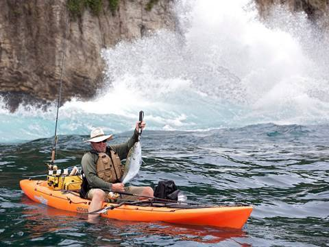 Extreme Kayak Fishing In Panama