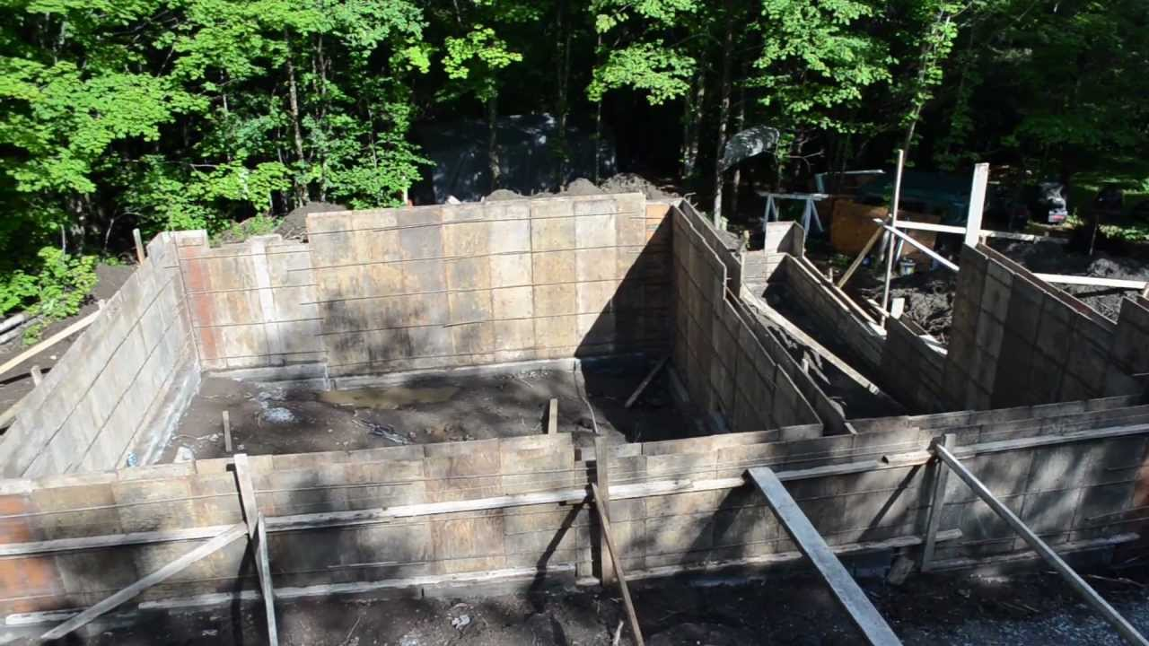 Concrete Forms Foundation Walls 7 My Garage Build Hd