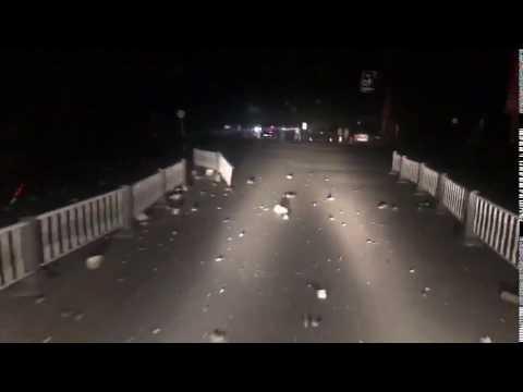 今日新聞/四川九寨溝地震,滿地落石