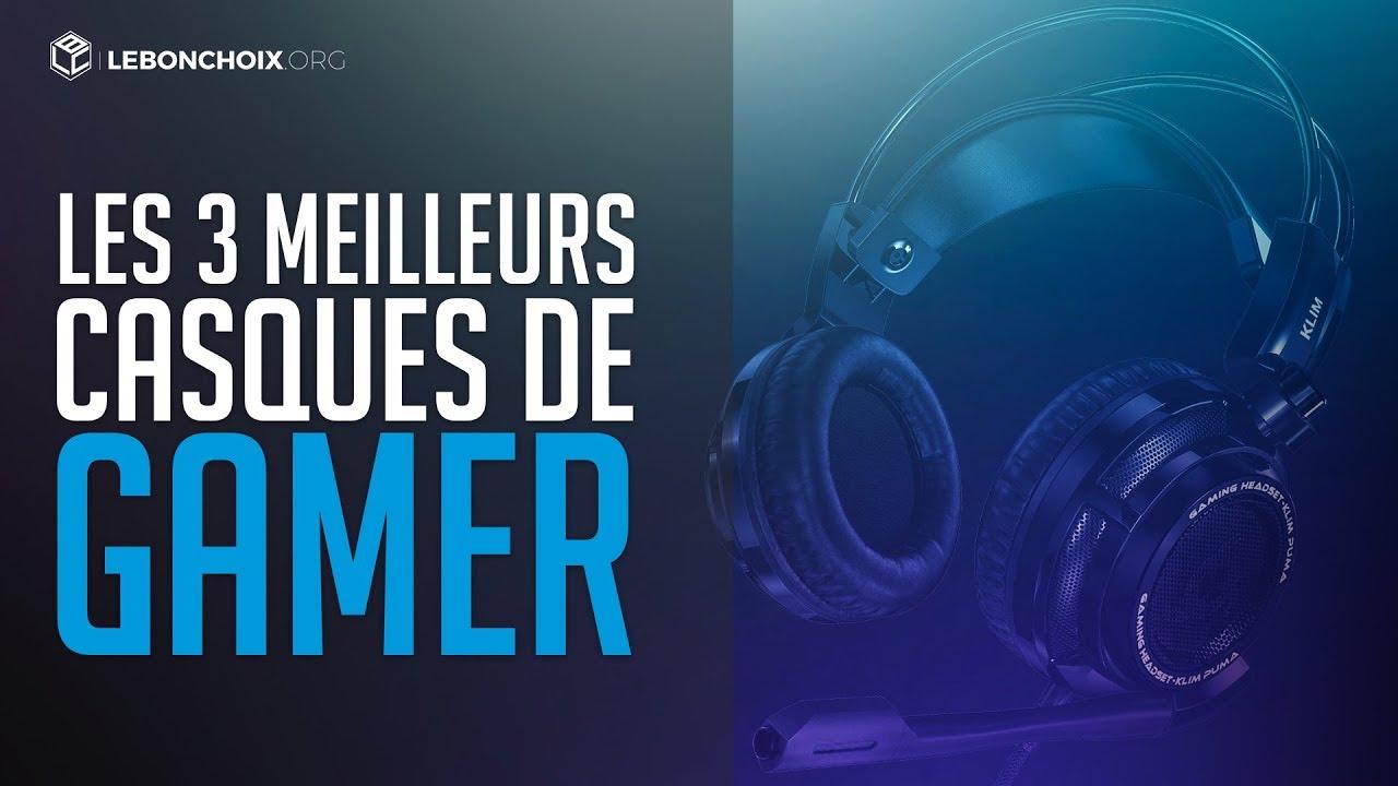 Top 3 Meilleur Casque Gamer 2019 Comparatif Test Youtube
