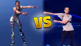 Fortnite Dances vs Real Life (Fortnite Battle Royale)