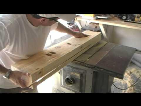 Shaolin House Wing Chun Wooden Dummy Construction