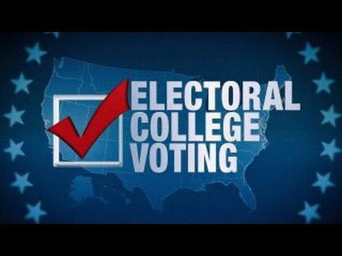 The Electoral College votes to ratify Trump's win