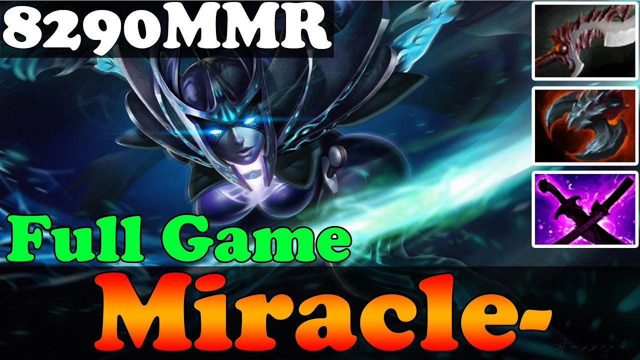 dota 2 patch 6 86 miracle 8290mmr plays phantom assassin