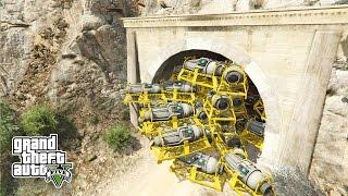 GTA 5: 1000 ATOMBOMBEN im MOUNT CHILIAD TUNNEL ! - T01 TÜR SPRENGEN | iCrimax
