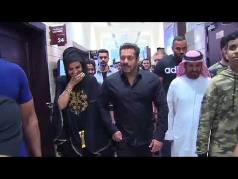 Salman Khan in Middle East | Rashid Belhasa Worlds kid Billionaire