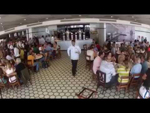 Huapango en el Café de la Parroquia en Veracruz