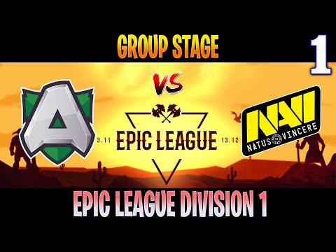 Alliance Vs NAVI Game 1 | Bo3 | Group Stage Epic League Division 1 | Dota 2 Live