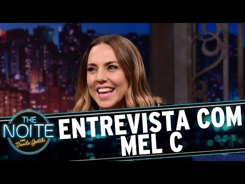 Entrevista com Mel C   The Noite (03/07/17)
