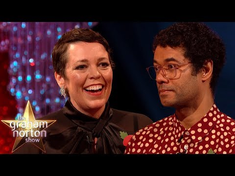 Olivia Colman Is Hooked On Richard Ayoades Book Premise | The Graham Norton Show