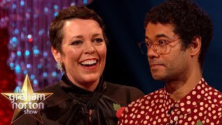 Olivia Colman Is Hooked On Richard Ayoade's Book Premise | The Graham Norton Show