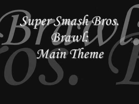 Super Smash Bros  Brawl- Main Theme Lyrics