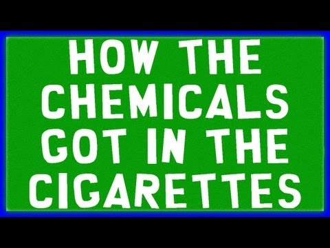This is 'How the chemicals got in the cigarettes'  all lawsuits cancelled on tobacco companies