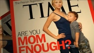 Time Magazine Cover Shows Mom Breast-Feeding