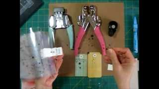 Scrapbooking Process - Making Your Own Tags