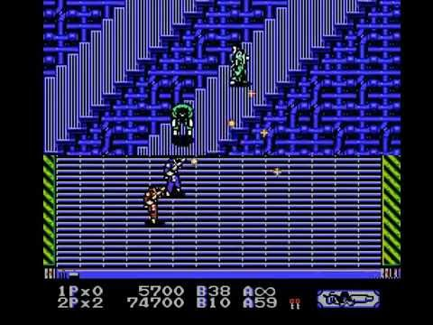 Heavy Barrel NES (2 players) - Real Time Playthrough