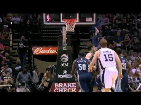 Vintage Tim Duncan 28 points vs Memphis Grizzlies full highlights 04.12.2012