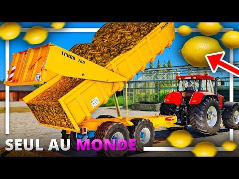 SERRES à CITRONS ! | SEUL AU MONDE #06 ! (Farming Simulator 19)