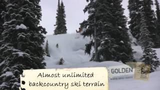 Ski Touring and Backcountry Lodges Around Golden, BC- Canadian Rockies