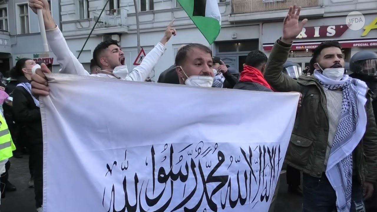 שנאה ואלימות בהפגנות פרו-פלסטיניות בברלין