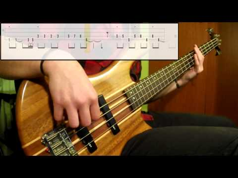 Red Hot Chili Peppers - Soul To Squeeze (Bass Cover) (Play Along Tabs In Video)