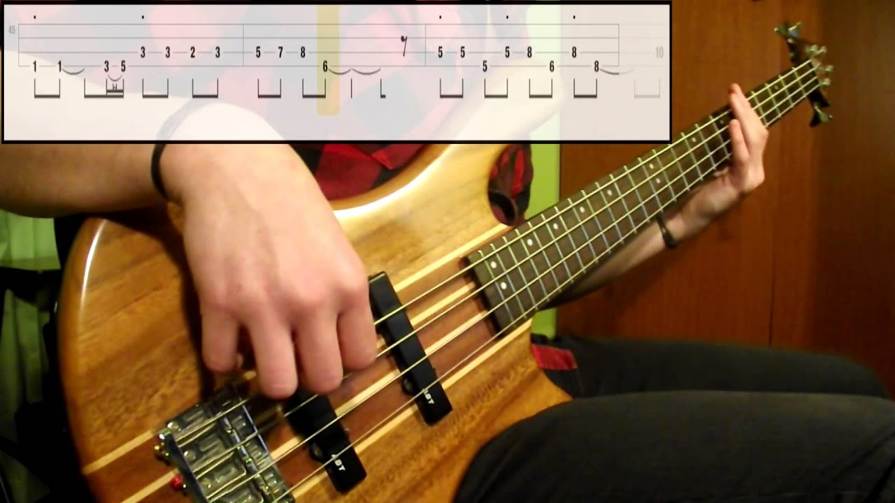 Red hot chili peppers road trippin' (bass cover) (play along.