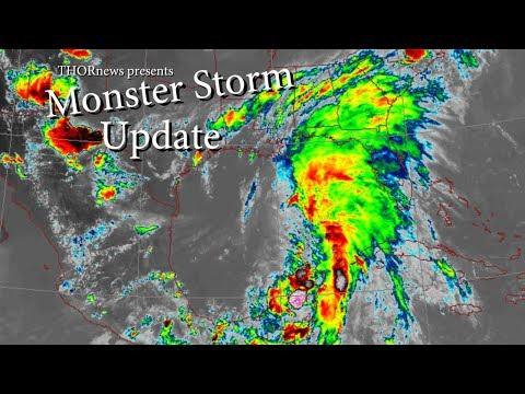 Monster STORM Update - Gulf Coast & Eastern Seaboard USA