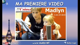MADLYN Accordéon enfant - Child accordion