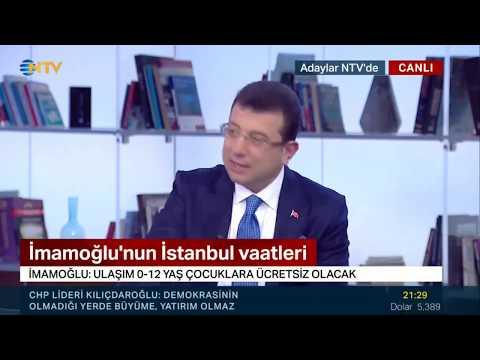 NTV canlı yayınında İstanbul'u ve çözümlerimizi konuşuyoruz. #İmamoğluVarsaÇözümVar #İstanbulaDerman