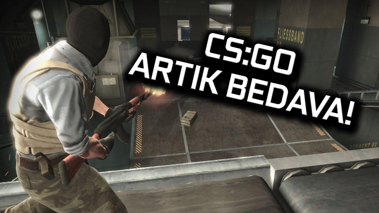 CS:GO BEDAVA OLDU! BATTLE ROYALE MODU GELDİ!