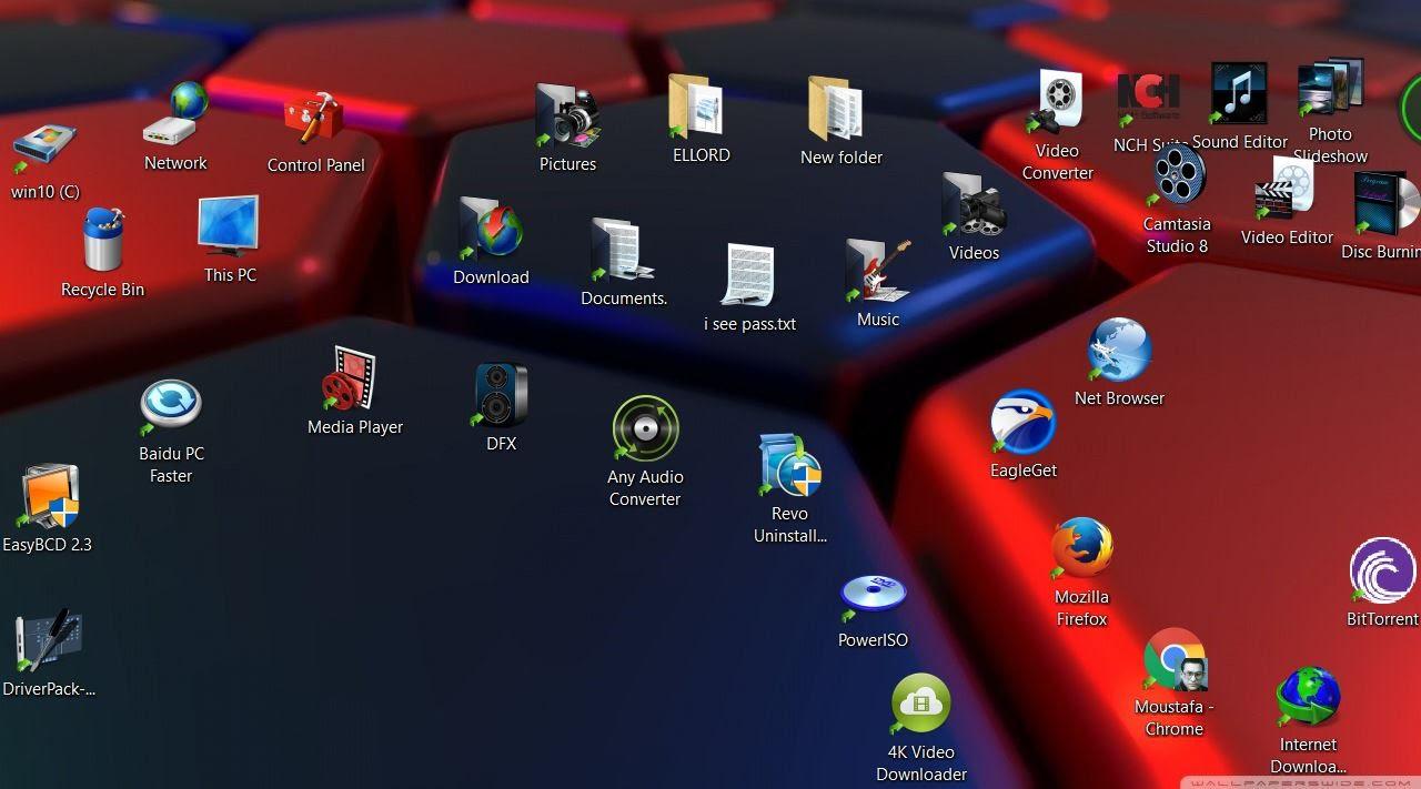 سطح مكتب ثلاثى الابعاد خلفيات ثلاثية Wallpaper 3d Desktop 3d Youtube
