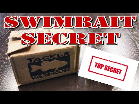 A Swimbait Secret - Tackle Warehouse Unboxing